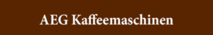AEG Kaffeemaschinen