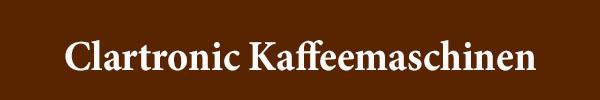 Clartronic Kaffeemaschinen