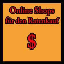 Online Shops für den Ratenkauf